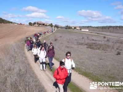 Senderismo Segovia - Riberas de los ríos Pirón y Viejo; parque natural fuentes carrionas